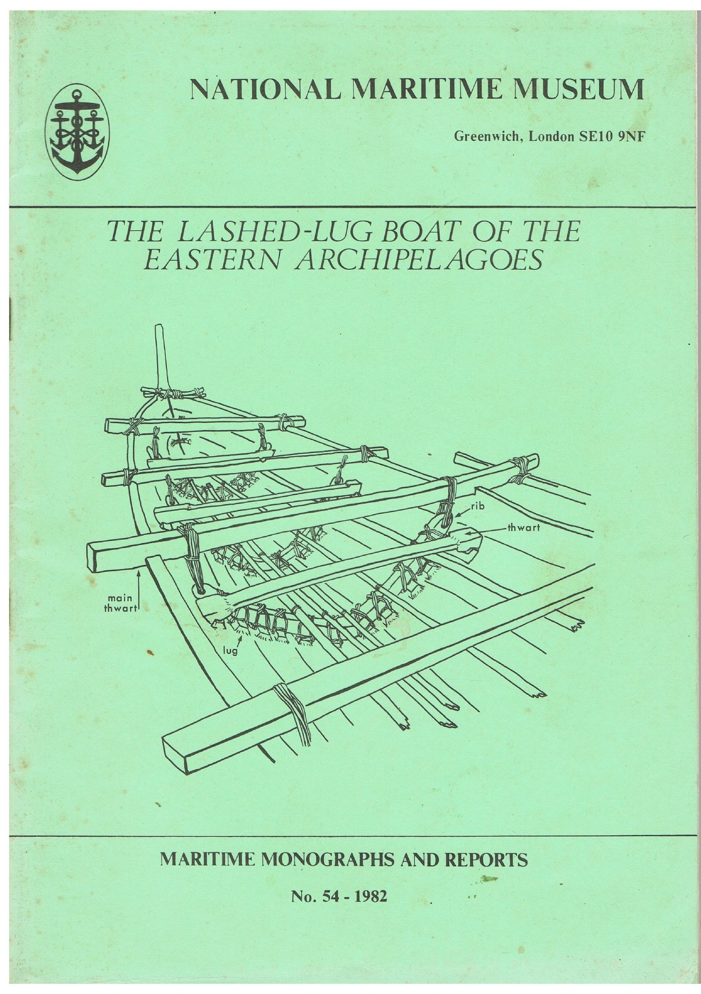 Maritime Len the lash lug boat of the eastern archipelagoes the alcins ms and the